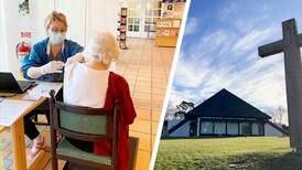 Här vaccineras svenskarna under kyrkans tak