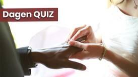 Dagens quiz om bröllopstraditioner