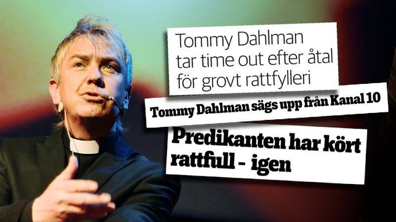 Rubrikerna i bilden är urklipp från publiceringar i Smålandsposten och tidningen Dagen.