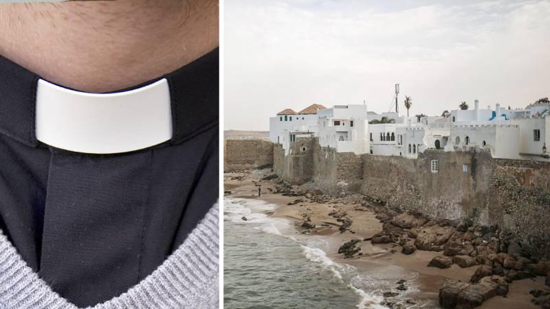 Det bär av till Marocko i april för prästen som numera heter Ahmed Rekdou Skjetne. Bild från kuststaden Asilah vid Medelhavet, Marocko (2017).