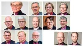 """Flera biskopar duckar för frågor om """"Mitt kors"""""""