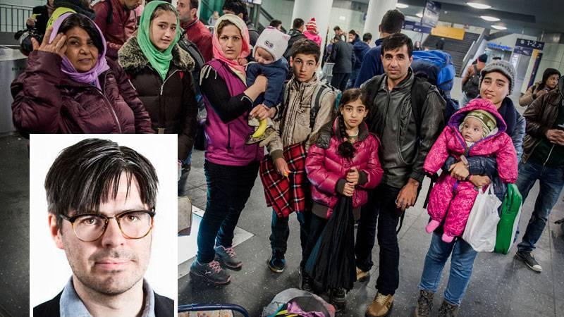Barnperspektivet saknas helt i KD:s flyktingutspel på senare tid. Familjen Nabizadh tog färjan från tyska Rostock till Sverige.
