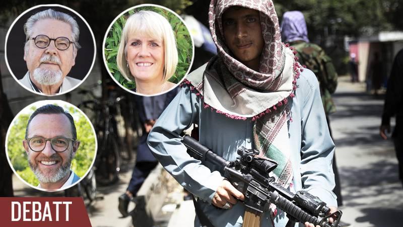 Utvisa inte våra syskon till Afghanistan, skriver de tre debattörerna.