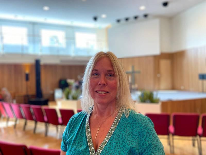 Monica Werner, pastor och föreståndare i Södertörnskyrkan.
