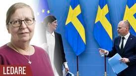 Var det begravningen av Sverige som humanitär stormakt vi såg?