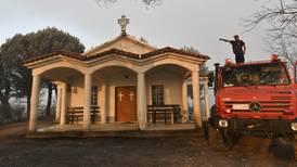 Svenska kyrkan i Grekland ser skogsbrändernas förödelse