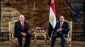 Pence betonade att Egypten måste skydda kristna