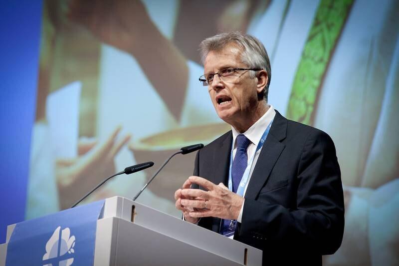 Dr Martin Junge, ledare för Lutherska världsförbundet (LVF).