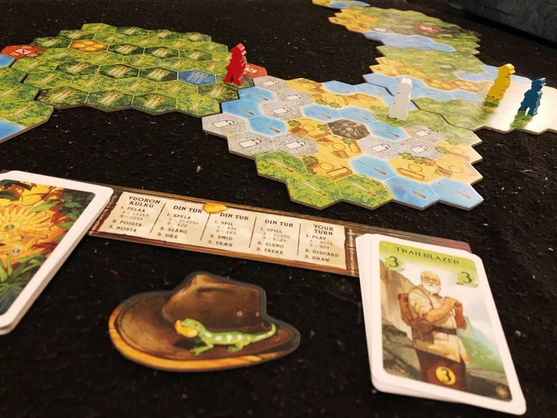 Brädspelet The Quest for El Dorado.