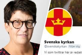 Helle Klein kritiserade Svenska kyrkans tweet – fick stöd av Ulf Ekman