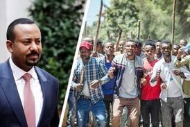 Över 60 döda vid protester mot kristna fredspristagaren Abiy Ahmed