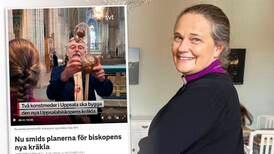 """Smederna om biskopens nya kräkla: """"Hjälp"""""""