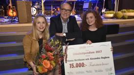 Countrymusiker fick årets Utbultstipendium