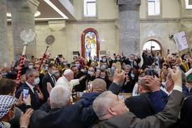 Påven till Iraks kristna: Döden får inte sista ordet
