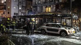 Raketregn över Israel och bombningar mot Gaza