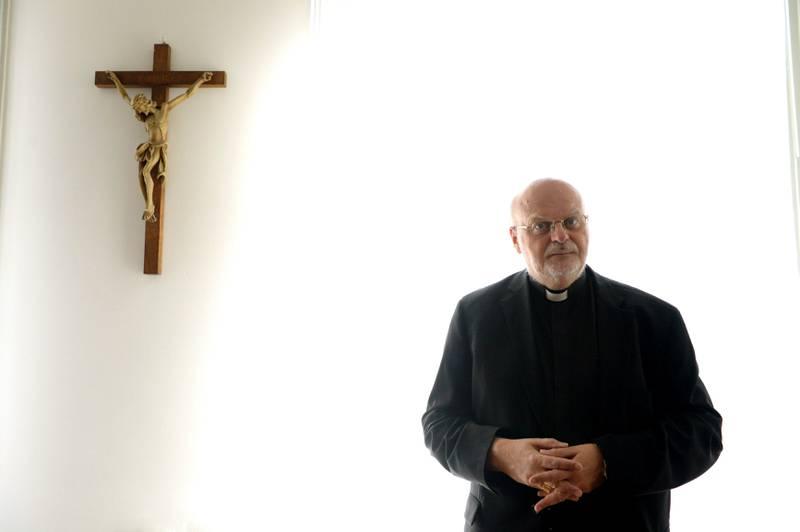 """Det var första gången som biskop Anders Arborelius deltog i en synod. """"Det var väldigt fritt och det kunde hetta till ibland"""", sammanfattar han mötet."""