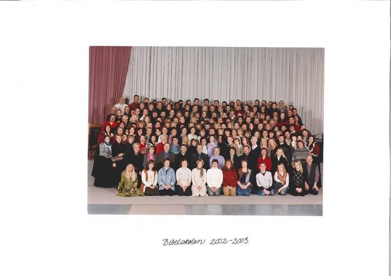 Bibelskolan Arken 2002–2003.