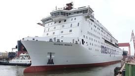 Världens största sjukhusfartyg levererat