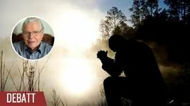 Genom bön kan vi förändra historien