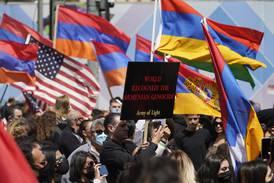Starka känslor när Biden erkände armeniskt folkmord