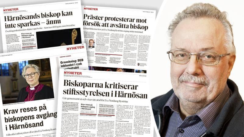 S-företrädare Kenneth Norberg (S) stoppas efter biskopsbråket i Härnösand.