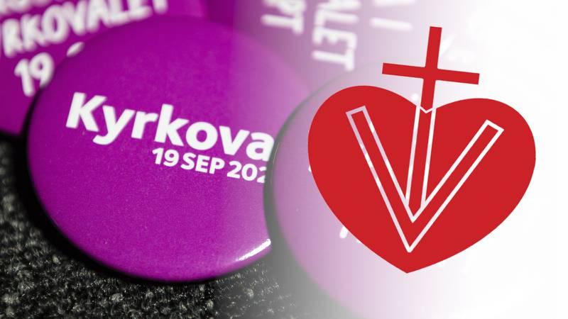 """Vänsterpartiet kallades """"hittapådemokraterna"""" i Svenska kyrkans valbilaga"""