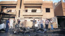 Kristna flyr striderna i Syrien