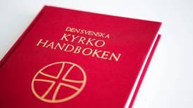 Premiär för kyrkohandboken på pingstdagen