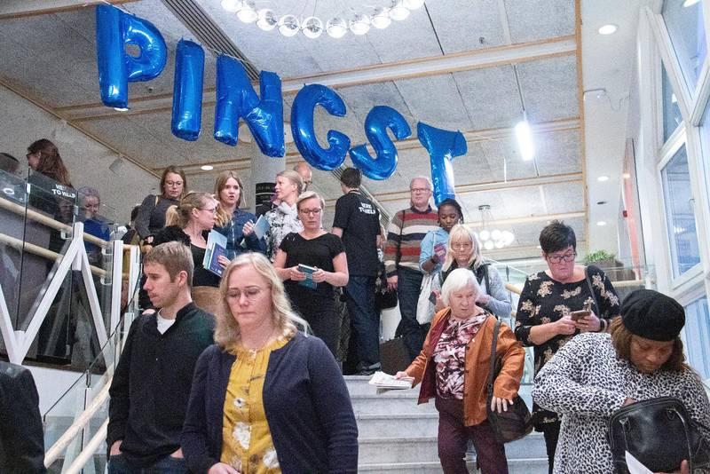 Varför slutar många pastorer i förtid? Den frågan har fått svar i en ny doktorsavhandling som Dagen skrivit om. Pingst ledare i Umeå Folkets hus 2019.