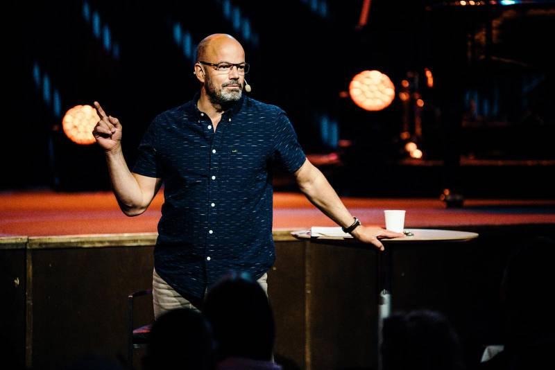 Niklas Piensoho, föreståndare för Filadelfiakyrkan i Stockholm: