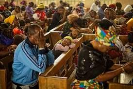 Julfirande kristna döda i terrorattack