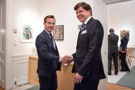 Ulf Kristersson (M) först ut som statsministerkandidat
