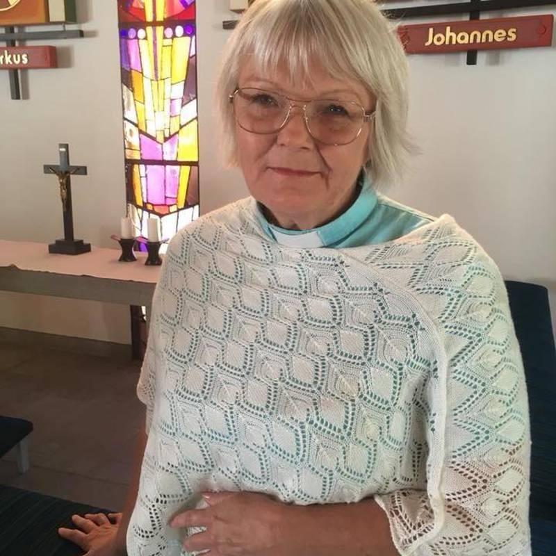 Gertrud Malmberg, kyrkoherde i Uddevalla.