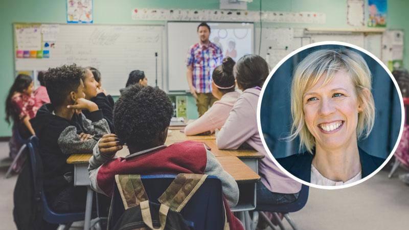 Jag är djupt tacksam för uppväxten i frikyrkan men jag är lika tacksam för att i en kommunal skola fått träffa elever med annan bakgrund, skriver Maria Nilsson (L), apropå att hon är för ett etableringsstopp för nya konfessionella friskolor.