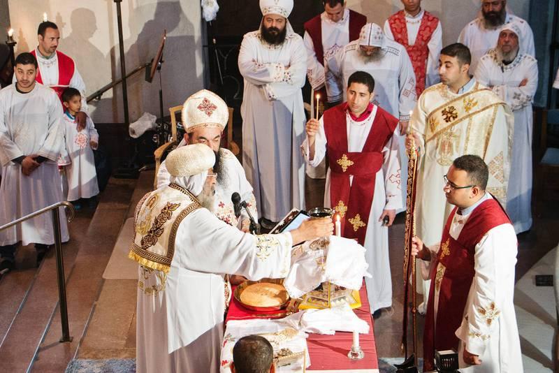 I fredags ledde påven en gudstjänst i Stockholm, dit flera hundra besökare kom.