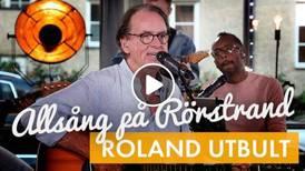 """Putte Nelsson, Roland Utbult och Evelina Gard bjöd in till """"Allsång på Rörstrand"""""""
