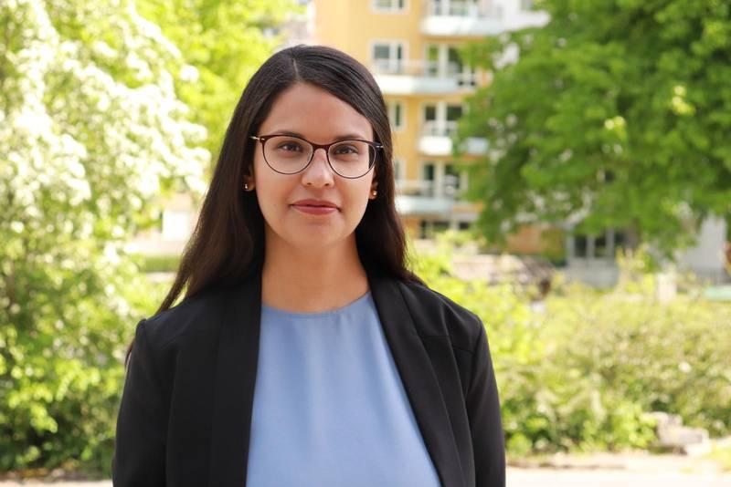 Sara Kukka Salam, ny ordförande för Tro och solidaritet.