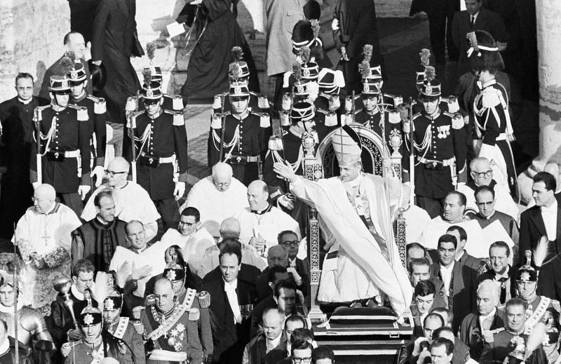 Andra Vatikankonciliet  i Rom 19621965.
