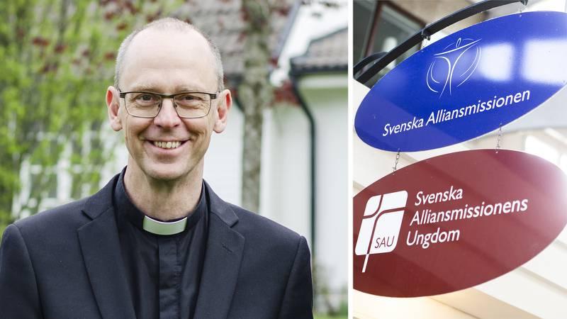 """""""Vi ska samtala om vad församlingen och gemenskapen betyder för oss"""", säger Ulf Häggqvist på Svenska alliansmissionen, som i kväll drar igång samtalskvällar i Skarpnäckskyrkan i Stockholm."""