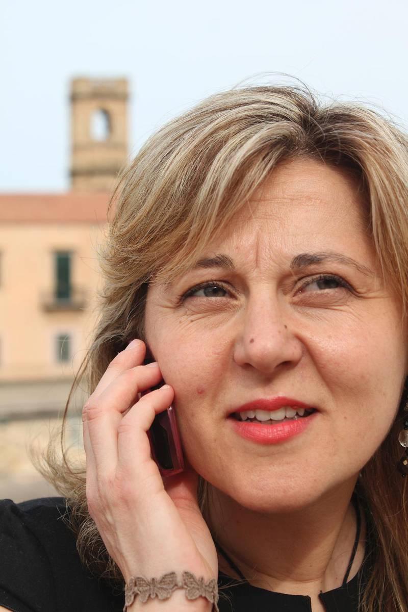 Sonia Tumminelli guidar gärna turister.