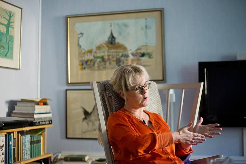 BORG. Annika Borg, initiativtagarna till Mitt kors, tillsammans med Helena Edlund och Johanna Andersson.