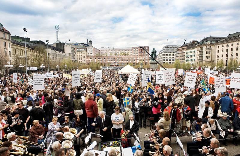 8. Kungsträdgården, Stockholm.