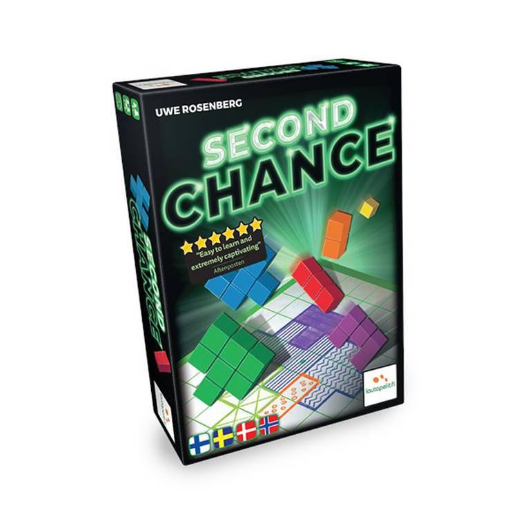 Brädspelet Second Chance, omslag.