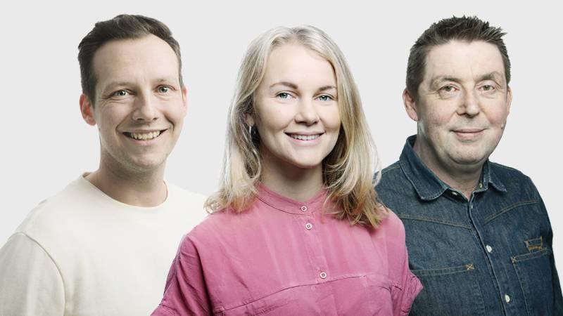 Kulturpanelen. Daniel Wistrand, Malina Abrahamsson, Urban Thoms.