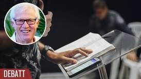 Ersätt inte bibelordet med predikan om semestrar och idrott