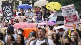 Tillfälligt stopp för Texas kritiserade abortlag