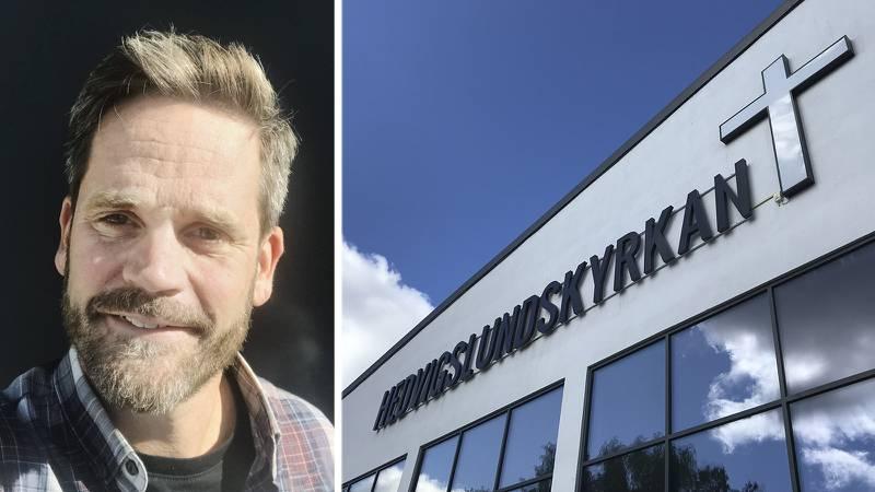 Pingstförsamlingen Hedvigslundskyrkan i Gävle driver bland annat ett härbärge i staden. Nu har församlingen beviljats statliga bidrag, något föreståndaren Fredrik Arwehed är glad över.