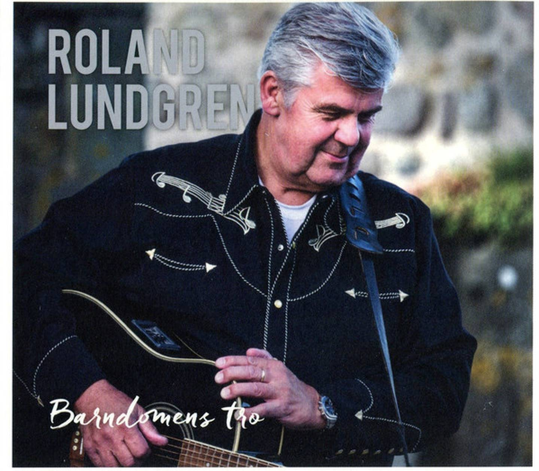 "Roland Lundgren ""Barndomens tro"" Skivomslag (2020)."