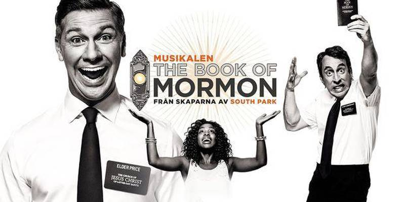 Musikalen Book of Mormon har Sverigepremiär den 26 januari.