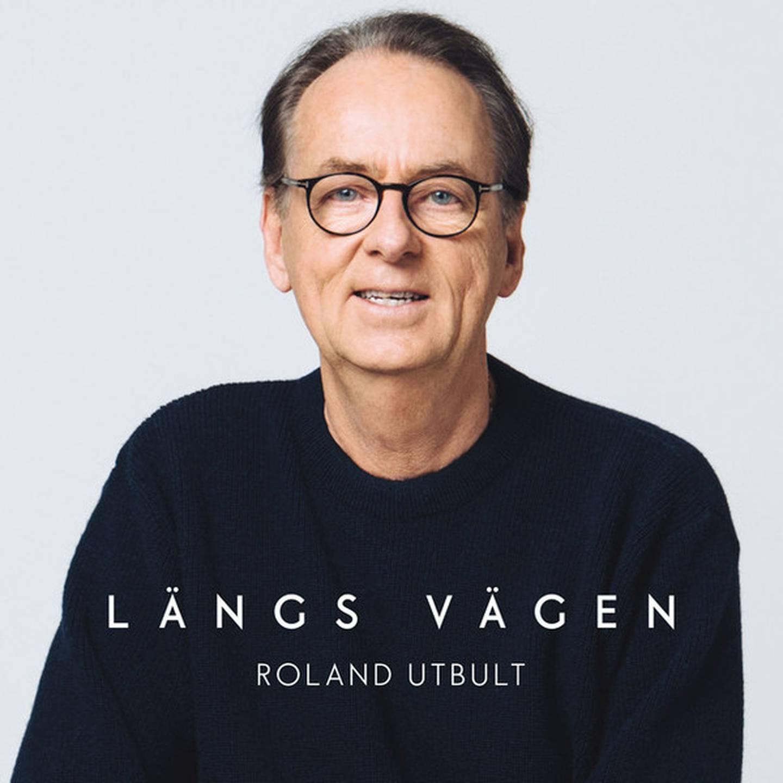 """Roland Utbult """"Längs vägen"""" Skivomslag (2020)."""